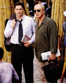 Michael Caine & Brendan Fraser in The Quiet American Poster and Photo