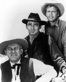 Lee J. Cobb & James Drury in The Virginian a.k.a. The Man From Shiloh Poster and Photo