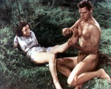 Johnny Weissmuller & Maureen O'Sullivan in Tarzan the Ape Man (1932) Poster and Photo