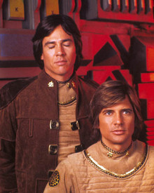 Richard Hatch & Dirk Benedict in Battlestar Galactica (1979) Poster and Photo