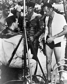 Ricou Browning & Richard Carlson in Creature From the Black Lagoon Poster and Photo
