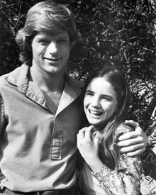 Melissa Gilbert & Dean Butler in Little House on the Prairie Poster and Photo
