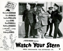 Hattie Jacques in Watch Your Stern Poster and Photo