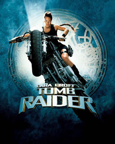 Poster & Angelina Jolie in Lara Croft: Tomb Raider a.k.a. Tomb Raider Poster and Photo