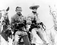 Clayton Moore & Jay Silverheels in The Lone Ranger and the Lost City Of Gold Poster and Photo