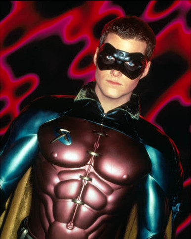 Chris O'Donnell in Batman Forever Poster and Photo