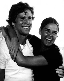 Ryan O'Neal & Ali MacGraw in Love Story (1970) Poster and Photo