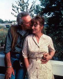 Clint Eastwood & Meryl Streep in The Bridges of Madison County Poster and Photo