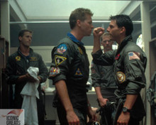 Tom Cruise & Val Kilmer in Top Gun Poster and Photo