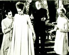 Boris Karloff & Elsa Lanchester in The Bride of Frankenstein Poster and Photo