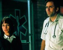 Nicolas Cage & Patricia Arquette in Bringing Out the Dead Poster and Photo