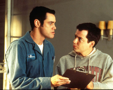 Jim Carrey & Matthew Modine Photograph and Poster - 1002153 Poster and Photo