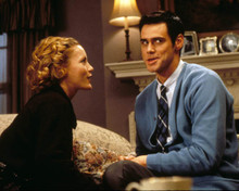 Jim Carrey & Leslie Mann in The Cable Guy Poster and Photo