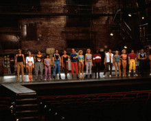 Cast of A Chorus Line Poster and Photo