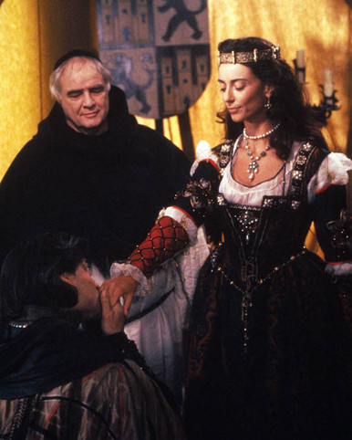 Marlon Brando in Christopher Columbus: The Discovery Poster and Photo