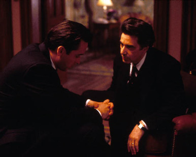 Al Pacino & John Cusack in City Hall Poster and Photo