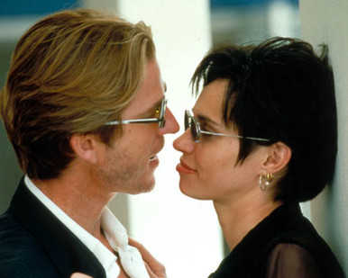 Matthew Modine & Beatrice Dalle in The Blackout Poster and Photo