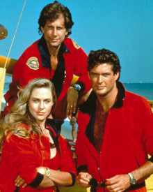David Hasselhoff in Baywatch Poster and Photo