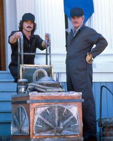 Burt Reynolds & Casey Siemaszko in Breaking In Poster and Photo