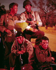 Cast of Combat (1962-67) Poster and Photo