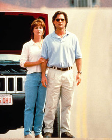 Kurt Russell & Kathleen Quinlan in Breakdown Poster and Photo