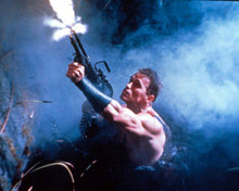 Arnold Schwarzenegger in Commando Poster and Photo