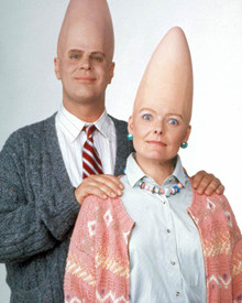 Dan Aykroyd & Jane Curtin in Coneheads Poster and Photo