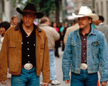 Woody Harrelson & Kiefer Sutherland in The Cowboy Way Poster and Photo
