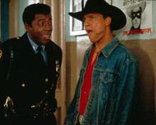 Woody Harrelson & Ernie Hudson in The Cowboy Way Poster and Photo
