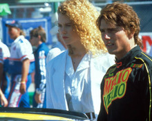 Tom Cruise & Nicole Kidman in Days of Thunder Poster and Photo