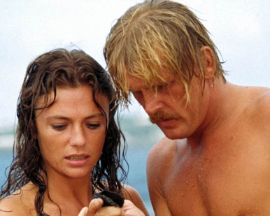 Nick Nolte & Jacqueline Bisset in The Deep Poster and Photo