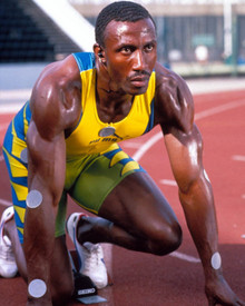 Linford Christie in Don't Go Breaking My Heart aka Us Begins With You Poster and Photo