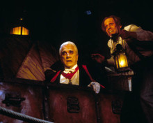 Leslie Nielsen & Peter MacNicol in Dracula : Dead and Loving It Poster and Photo