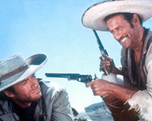 Clint Eastwood & Eli Wallach in The Good, the Bad and the Ugly a.k.a. Il Buono, il Brutto, il cattivo Poster and Photo