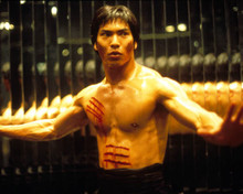 Jason Scott Lee in Dragon: The Bruce Lee Story Poster and Photo