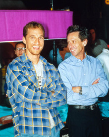 Matthew McConaughey & Brian Grazer in ED TV Poster and Photo