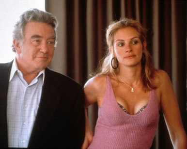 Julia Roberts & Albert Finney in Erin Brockovich Poster and Photo