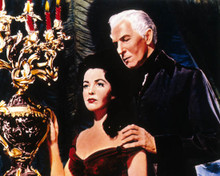 Vincent Price & Myrna Fahey in The Fall of the House of Usher Poster and Photo