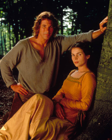 Richard Gere & Julia Ormond in First Knight Poster and Photo