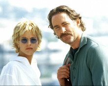 Kevin Kline & Meg Ryan in French Kiss Poster and Photo