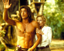 Brendan Fraser & Leslie Mann in George of the Jungle Poster and Photo
