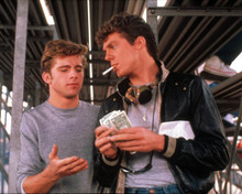 Maxwell Caulfield & Christopher McDonald in Grease II Poster and Photo