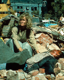 Joanna Kerns in The Big One : The Great Los Angeles Earthquake Poster and Photo