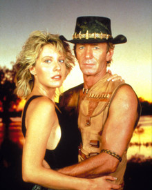 Paul Hogan in Crocodile Dundee Poster and Photo
