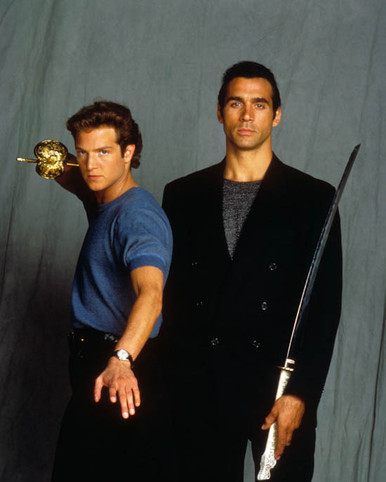 Adrian Paul & Stan Kirsch in Highlander (1992-97) Poster and Photo