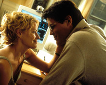 Elisabeth Shue & Josh Brolin in The Hollow Man Poster and Photo