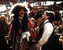 Dustin Hoffman & Robin Williams in Hook Poster and Photo