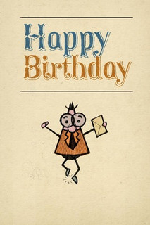 B-031 - Happy Birthday - Facebook/Folded Paper