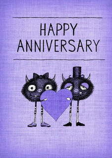 Happy Anniversary - I'm so happy we're still married.