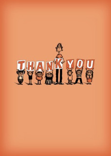 #032a-8  (Box of 8) Thank You/Generic (smaller version)